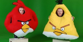 Angry Birds Costumes 2012