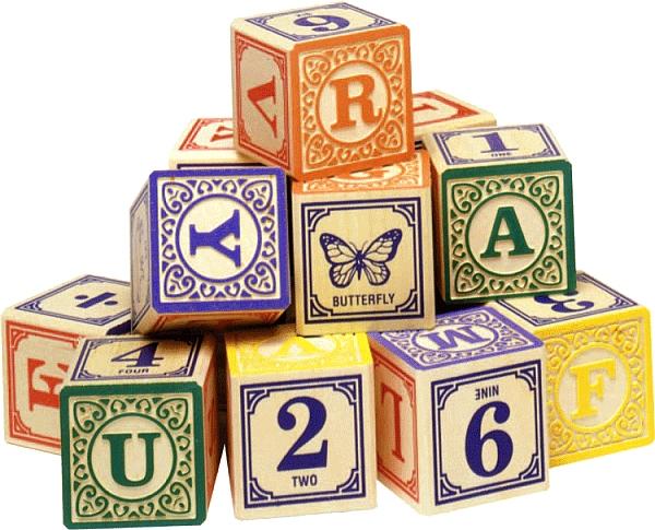 Child To Cherish Alphabet Letters