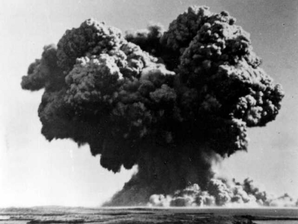 Fat Man Bomb Explosion 62